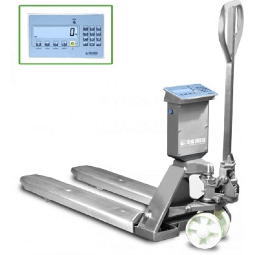 TPWLKI  'Logistics Professional Pallet Truck Scale in Stainless Steel'
