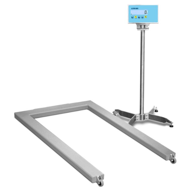 U Frame Pallet Scale - Stainless Steel
